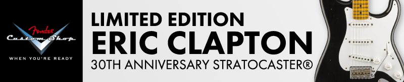 LIMITED EDITION ERIC CLAPTON 30TH ANNIVERSARY STRATOCASTER®