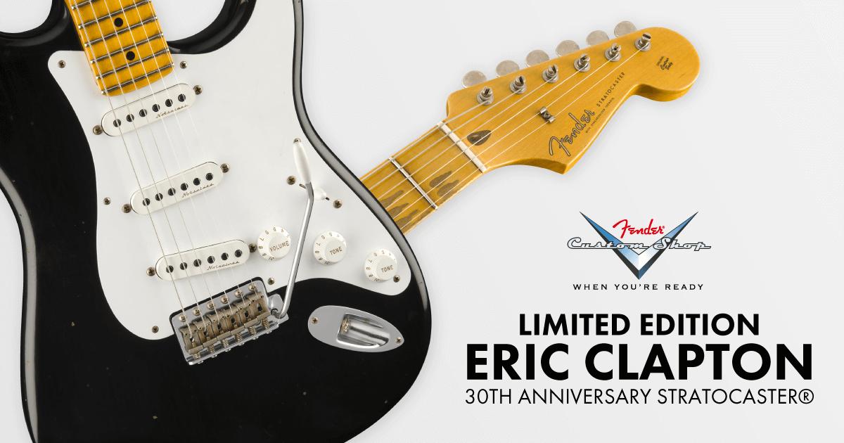 Fender U.S.A. Customshop Eric Clapton Signature Storatocaster Blackie