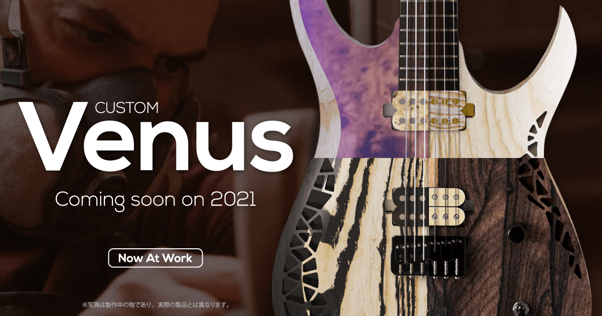 O.D Guitarsカスタムモデル2021年入荷予定!