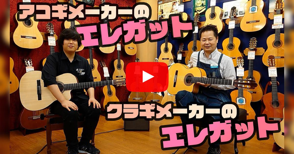 「クラシックギターメーカーのエレガット」と「アコースティックギターメーカーのエレガット」どっちがいいの?