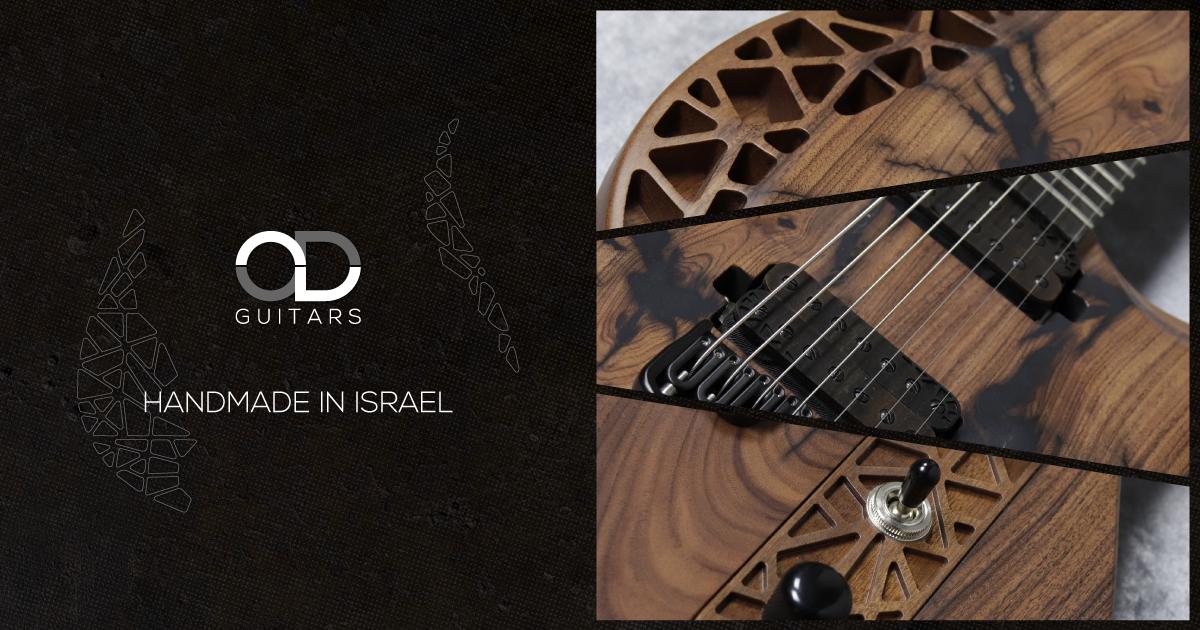 """イスラエル発のハンドメイドギターブランド""""OD Guitars"""""""