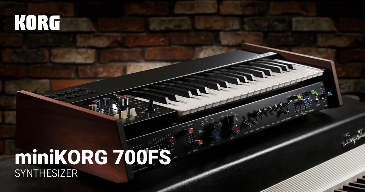 miniKORG 700が完全限定生産で復活